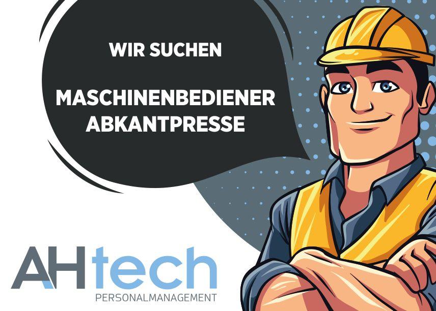 AH Tech sucht Maschinenbediener